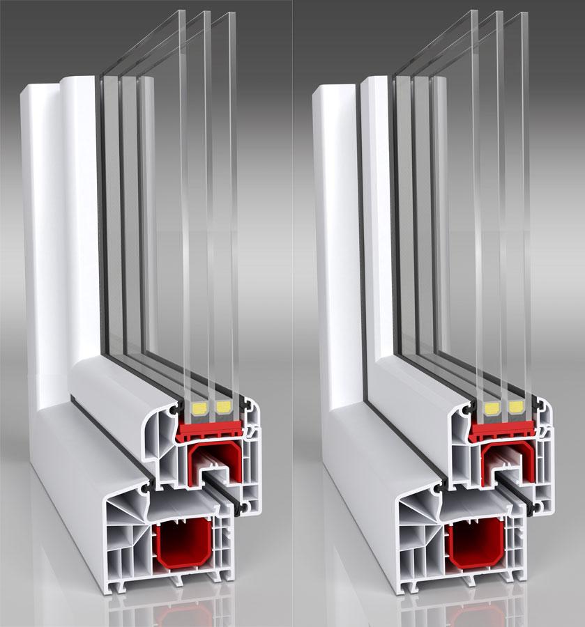 Den nya varianten av fönstret MIROX ID 4000 Soft Line och Rund Line